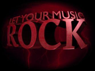 3D Let your music rock