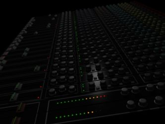 3D 24 Channel audio mixer 1st view