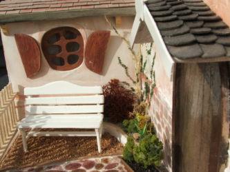 Miniatuur tuin schaal 1 op 12